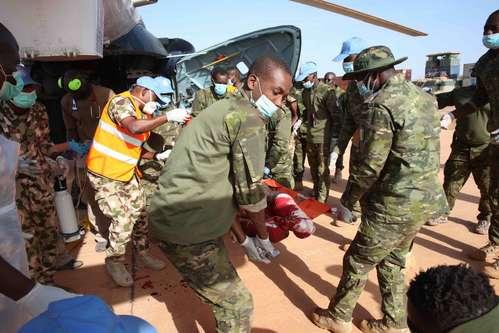 3 casques ivoiriens tués et 4 autres blessés au Mali
