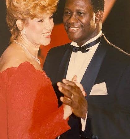 Noces de perle : toujours autant d'amour entre Alassane et Dominique Ouattara 30 ans après